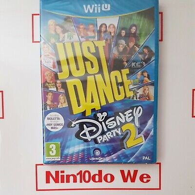Just Dance Disney Party 2 (Wii U) - Brand New Sealed