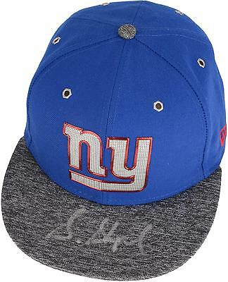 Sterling Shepard New York Giants Autographed New Era Draft Day Cap