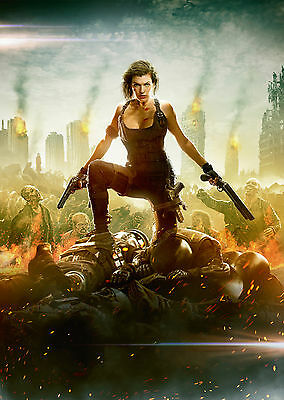 Resident Evil: The Final Chapter (2016) V7 - A1/A2 POSTER **SEE OFFER**
