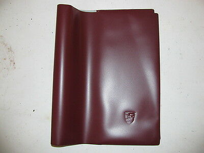 Porsche 356 911 912 914 944 928 embossed owners manual cover nice