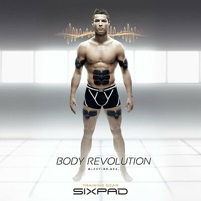 Japanese Sixpad Abs Muscle Training Gear Cristiano Ronaldo(Sealed With Box)