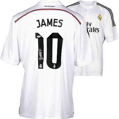 James Rodriguez MLS Real Madrid Autographed White Jersey