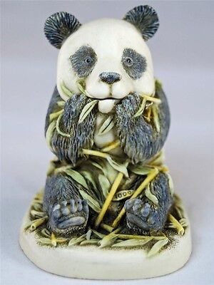 MIB Harmony Kingdom BAMBOOZLED Panda Bear with Bamboo Treasure Jest TJPA
