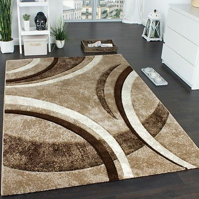 New Modern Rug Carpets Soft Quality Mats Brown Beige Small Extra Large Rugs New