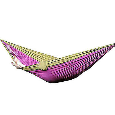 BS878 Hot Sale Nylon Fabric Hammock Travel Sleeping For Double Person