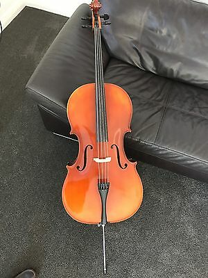 Cello Hofner model 4/2 - C with Dorfner bow