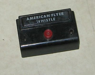 Vintage American Flyer S scale Whistle Control Button