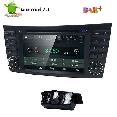 Quad Core Android 5.1.1 Car DVD Radio GPS Mercedes Benz E G Class W211 W463 W219