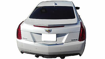 Cadillac Ats Coupe Flush Mount Unpainted Rear Wing Spoiler 2016-2018