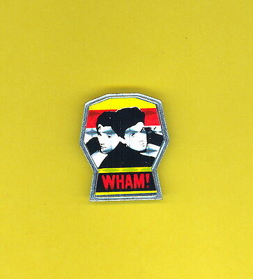 Wham 1985 uk pinback button badge prismatic mirrored t-shirt ZZZ