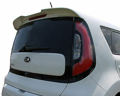 Painted To Match Rear Wing Spoiler For A Kia Soul Flush Mount Factory 2014-2018