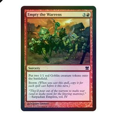 Magic The Gathering MTG Empty the Warrens - Foil Modern Masters Singles