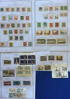 Canada 1977 Year 80 V. Used With Varieties Of Imperf & Perf Very Rare Spl