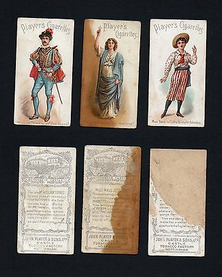 Cigarette Trade Cards: J Player Actors and Actresses