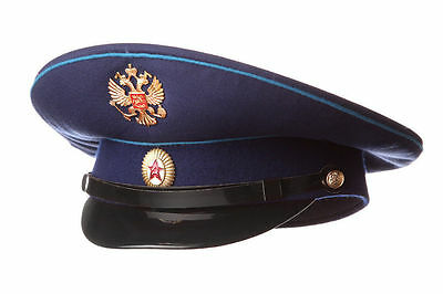 Russian / USSR Army Military Hat / Officer's Cap Space Force + Soviet Red Star