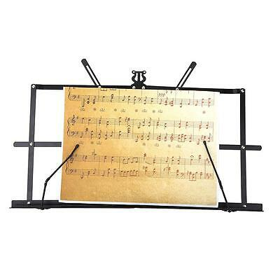 Tabletop Music Stand Metal Sheet Foldable + Waterproof Carry Bag HOT N3D0