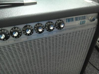 Fender custom 68 twin reverb guitar amp great condition!!