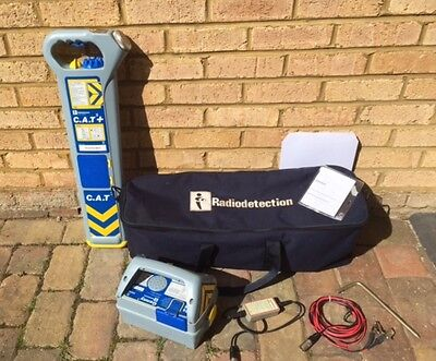 Radiodetection Cat 3 Plus + With Genny And Direct Connection Lead Etc