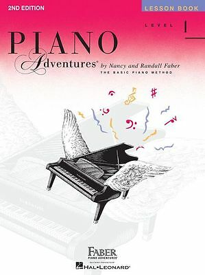 Faber Piano Adventures Lesson Book. Level 1, 2A, 2B, 3A & 3B Available