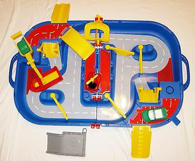 Vtg AQUAPLAY 512 -CANAL SYSTEM w Boat Car Helicopter