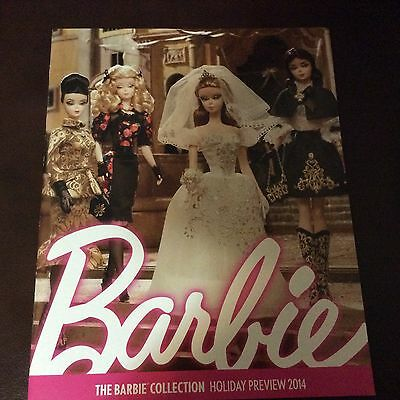 Barbie Collector CATALOG Silkstone Italian Fashion Model HOLIDAY Preview 2014