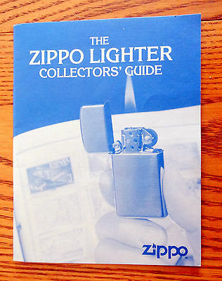 "COLLECTORS GUIDE 1996 EDITION of the ""ZIPPO LIGHTER  COLLECATABLE GUIDE """