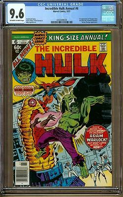 Incredible Hulk Annual #6 CGC 9.6 OW/W - 1st Appearance of Paragon aka Her