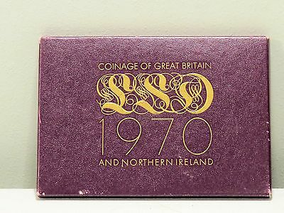 1970 Coinage of Great Britain & Northern Ireland 8-Coin Proof Set