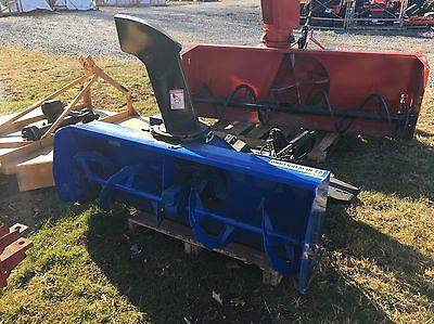 "63"" New Holland 63CSH Snow Blower w/ Subframe for a Boomer 50 Tractor"