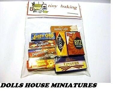 Grocery Boxes Dolls House Miniatures