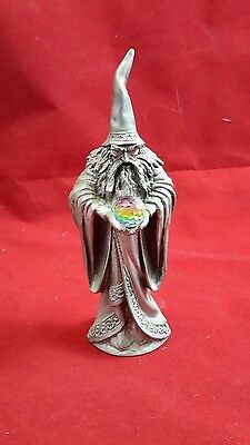 """Vintage 1980 Perth Pewter Ray Lamb Signed Wizard Figure 5"""""""