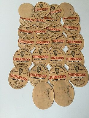 26 vintage Guinness extra stout labels by Norman & Pring Exeter