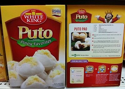 White king puto mix Filipino rice cake new stock