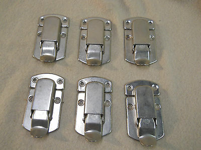 Lot of Vintage Suitcases/Luggage/Trunk Drawbolts Nickel Plate,  Free Shipping
