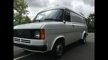 Ford Transit Mk 2 twin rear wheel  1983 Dry stored 28 years    ONLY 147 MILES