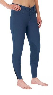 Kerrits Womens Cross Over Kneepatch Breech CLOSEOUT COLORS
