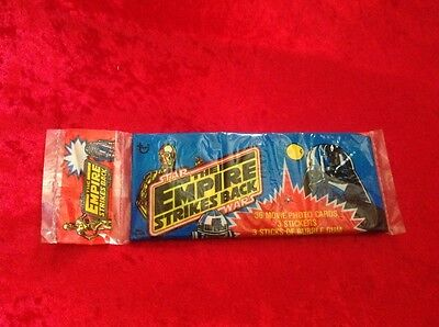 Star Wars The Empire Strikes Back - Topps 36 Movie Photo Cards Unopened Pack
