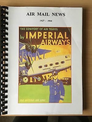 Imperial Airways and Other Airlines Air Mail News Cuttings (272 Pages)