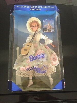 1995 Sound of Music MARIA Barbie Doll Hollywood Legends Collection  #13676 NRFB