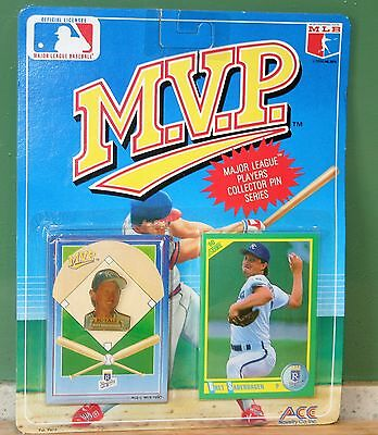 MVP Major League Baseball Bret Saberhagen Collector Pin Series 1990 BNOC