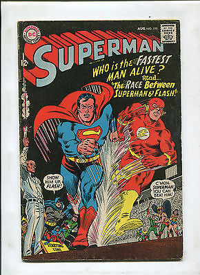 The Flash #199 (5.5) 1St Superman And Flash Race!