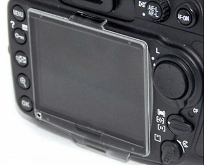 BM-10 Hard Clear Plastic LCD Monitor Screen Cover Protector For Nikon D90 - UK