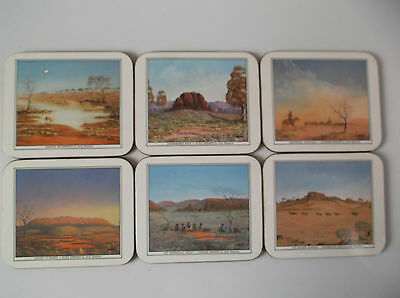 Jason Set Of 6 Drink Coasters, Paintings By Jack Absalom