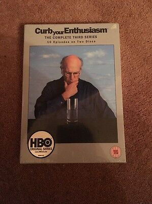 Curb Your Enthusiasm - Series 3 - Complete (DVD, 2005, 2-Disc Set)