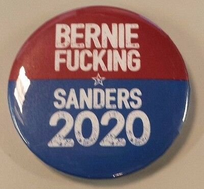 The Political Revolution - Bernie F*cking Sanders 2020 - Button/Pin