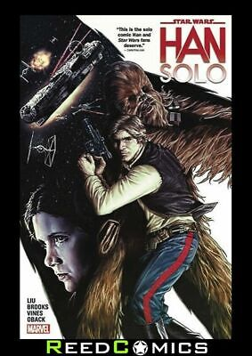 STAR WARS HAN SOLO GRAPHIC NOVEL New Paperback Collects Mini-Series Issues #1-5