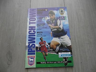 1997-98  Ipswich v  Reading - Division One