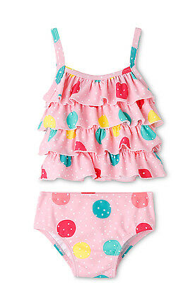 NEW Sprout Two Piece Swim Set - Frill Tankini Lt Pink
