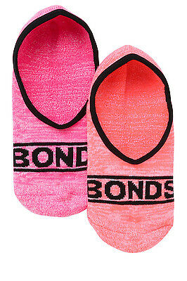 NEW Bonds 2Pk Footlet with Cushioned Foot