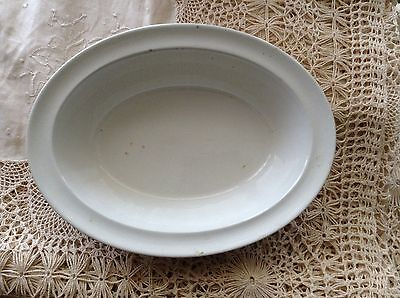 "GREEN'S PIE DISH 10"" #524039 MADE IN ENGLAND Off-white ONLY USED 1-2x POTTERY"